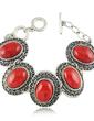 Fashion Alloy With Rhinestone Ladies' Bracelets (011028625)