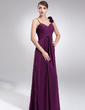 Empire Sweetheart Floor-Length Chiffon Chiffon Maternity Bridesmaid Dress With Ruffle Flower(s) (045022464)