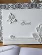 Butterfly Design Rhinestones Guestbook (101018156)