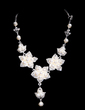 Gorgeous Alloy/Pearl With Rhinestone Ladies' Jewelry Sets (011028361)