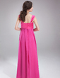 Empire Sweetheart Floor-Length Chiffon Chiffon Maternity Bridesmaid Dress With Ruffle (045004394)