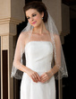 Two-tier Elbow Bridal Veils With Beaded Edge (006036620)
