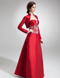 Long Sleeve Taffeta Special Occasion Wrap (013012344)