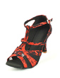 Women's Lace Heels Sandals Latin With Buckle Dance Shoes (053057171)