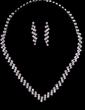 Unique Alloy/Rhinestones Ladies' Jewelry Sets (011029095)