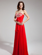 Empire Sweetheart Floor-Length Chiffon Prom Dress With Ruffle Beading Sequins Bow(s) (018019101)