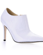 Patent Leather Stiletto Heel Closed Toe Pumps Ankle Boots (088014143)