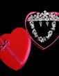 Gorgeous Alloy/Rhinestones Women's Jewelry Sets (011028571)