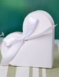 Heart-shaped Favor Boxes With Ribbons (Set of 12) (050032974)