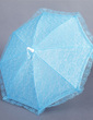 Beautiful Terylene/Lace Wedding Umbrellas With Embroidery (124037495)