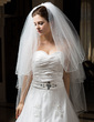 Three-tier Fingertip Bridal Veils With Pencil Edge (006034318)