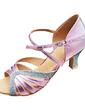 Kadın Suni deri Köpüklü Glitter Topuk Sandalet Latin Ile Ayakkabı Askısı Dans Ayakkabıları (053013183)