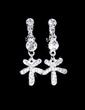 Flower Shaped Alloy/Rhinestones Women's Jewelry Sets (011028422)