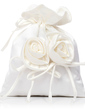 Lovely Satin With Flower Bridal Purse (012029655)
