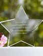 Personalized Star Design Crystal Cake Topper (118030231)