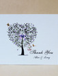 Personalized Tree Design Hard Card Paper Thank You Cards (Set of 50) (118029365)