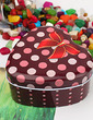Polka Dots Pattern Heart-shaped Favor Tin (Set of 12) (050015753)
