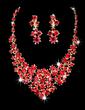 Shining Alloy/Rhinestones Ladies' Jewelry Sets (011028476)
