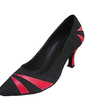 Women's Leatherette Nubuck Heels Pumps Ballroom Dance Shoes (053013231)