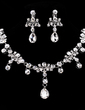 Shining Alloy/Rhinestones Ladies' Jewelry Sets (011019280)
