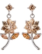 Beautiful Alloy With CZ Cubic Zirconia Ladies' Fashion Earrings (011036720)