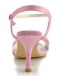 Women's Satin Stiletto Heel Sandals With Imitation Pearl Satin Flower (047039646)