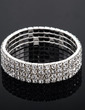 Alloy With Rhinestone Ladies' Bracelets (011033401)