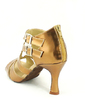 Women's Leatherette Heels Sandals Latin With Buckle Dance Shoes (053057165)