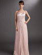 A-Line/Princess Sweetheart Floor-Length Charmeuse Mother of the Bride Dress With Beading (008006265)