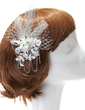 Charming Rhinestone/Lace Flowers & Feathers (042057205)