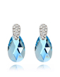 Elegant Alloy With Crystal Women's Earrings (011037019)