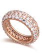 Shining Zircon/Platinum Plated/Rose Gold Plated Ladies' Rings (011057627)