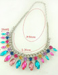 Gorgeous Alloy With Crystal Women's Necklaces (011026719)