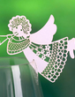 Angel Design Pearl Paper Place Cards (set of 12) (131037422)