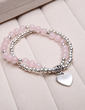 Personalized Crystal Ladies' Bracelets (011054910)