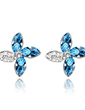 Elegant Alloy With Crystal Women's Earrings (011037013)