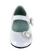 Kids' Leatherette Flat Heel Closed Toe Flats With Flower (047039148)