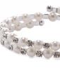 Strand Pearl With Rhinestone Ladies' Bracelets (011033403)