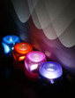 Color changing Beautiful LED Lights (Set of 4 in Assorted Colors) (131036839)