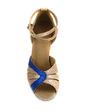 Kadın Köpüklü Glitter Topuk Sandalet Latin Ile Ayakkabı Askısı Dans Ayakkabıları (053013441)