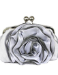 Gorgeous Satin With Flower Clutches (012005452)