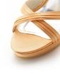 Silk Stiletto Heel Sandals Platform Peep Toe With Bowknot shoes (087039748)