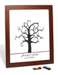 Personalized Tree Design Canvas Fingerprint Painting (118029414)