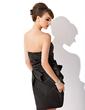 Kılıf Askısız Diz Hizası Mezunlar Gecesi Elbisesi Ile Büzgü (022009439)