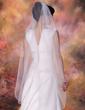 One-tier Waltz Bridal Veils With Pencil Edge (006020342)