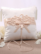 Elegant Ring Pillow With Bow/Flowers (103022564)