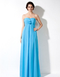Empire Sweetheart Floor-Length Chiffon Chiffon Maternity Bridesmaid Dress With Cascading Ruffles (045022462)