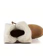 Süet Düz Topuk Daireler Kar Boots ayakkabı (088057383)