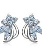 Unique Alloy With CZ Cubic Zirconia Women's Fashion Earrings (011036700)