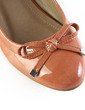 Leatherette Flat Heel Flats Closed Toe With Bowknot shoes (086030279)